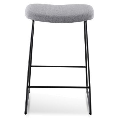 Wallace Fabric & Steel Counter Stool