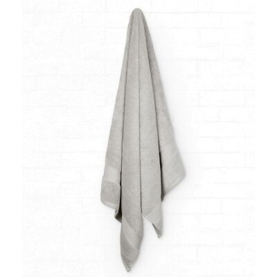 Algodon St Regis Cotton Bath Sheet, Silver