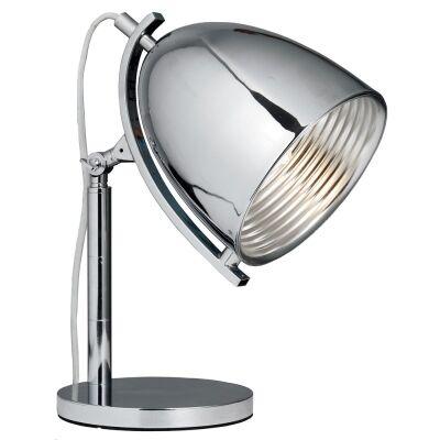 Finner Metal Desk Lamp - Chrome