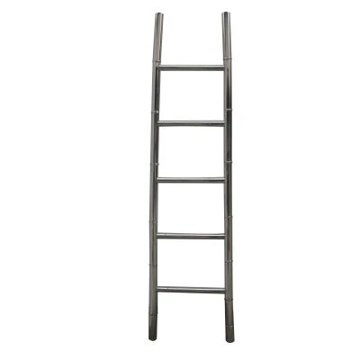 Bamboo Stainless Steel 200cm Ladder