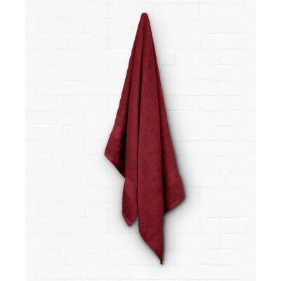 Algodon St Regis Cotton Bath Towel, Berry