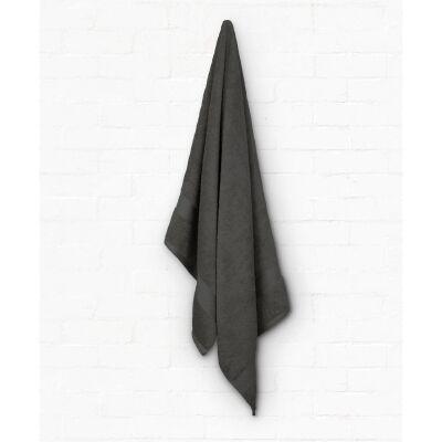 Algodon St Regis Cotton Bath Towel, Charcoal