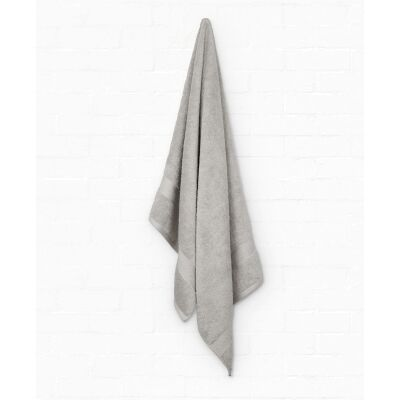 Algodon St Regis Cotton Bath Towel, Silver