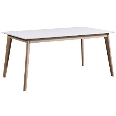 Otta Scandinavian Wooden Dining Table, 160cm