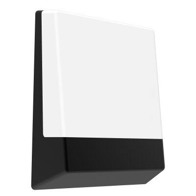 Casula IP65 Exterior LED Bulkhead / Letter Box Light, Black