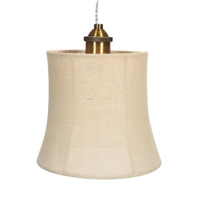 Monterey Linen Shade Pendant Light