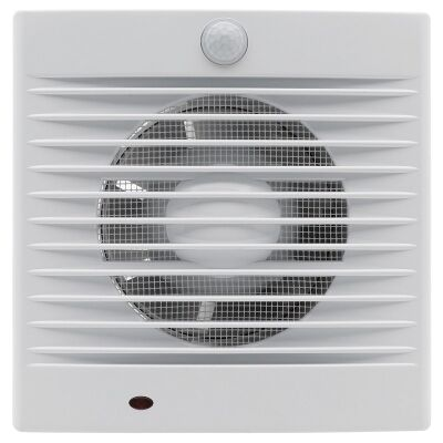 Bairstow Wall/Window Square Exhaust Fan with Sensor, 12W