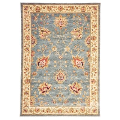 Byblos Classic Egyptian Made Oriental Rug, 230x160cm, Heritage Blue