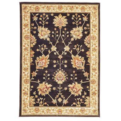 Byblos Classic Egyptian Made Oriental Rug, 290x200cm, Dark Brown