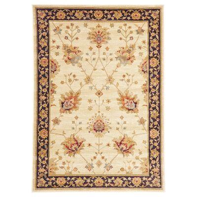 Byblos Classic Egyptian Made Oriental Rug, 230x160cm, Cream