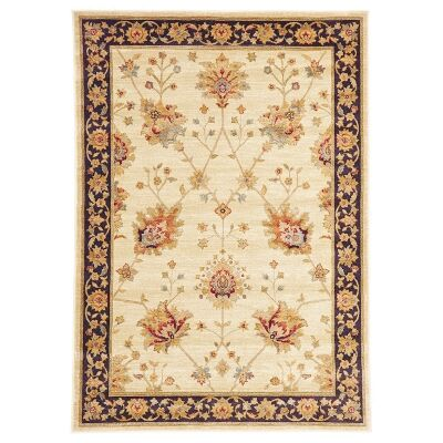 Byblos Classic Egyptian Made Oriental Rug, 290x200cm, Cream