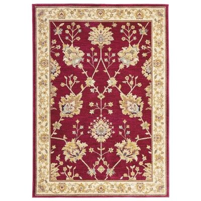 Byblos Classic Egyptian Made Oriental Rug, 230x160cm, Red