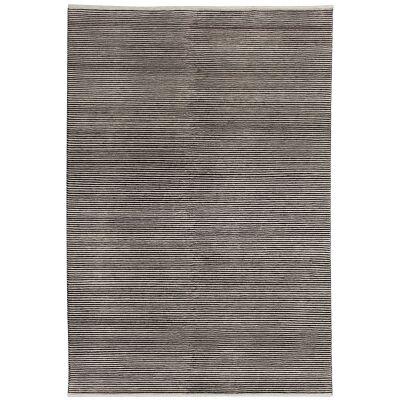 Boheme Hand Tufted Wool Rug, 160x230cm, Charcoal