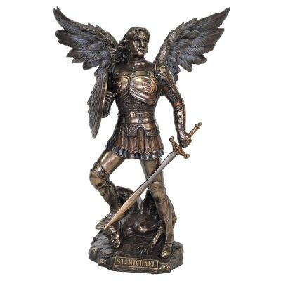 Angel Figurine, St Michael the Archangel, Small