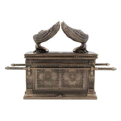 Cast Bronze The Ark of the Covenant Treasure Box