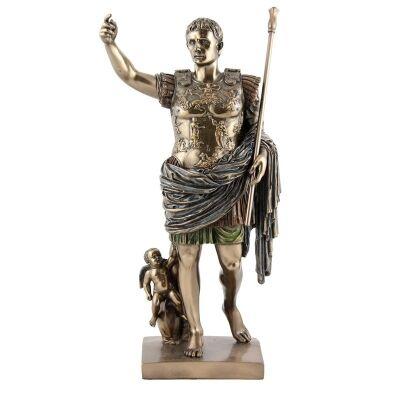 Cast Bronze Figurine of Caeser