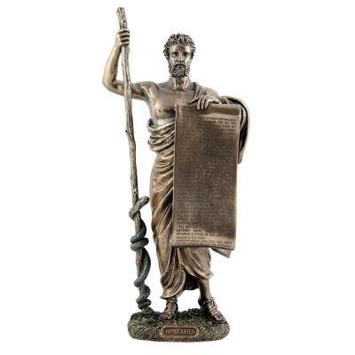 Cast Bronze Figurine of Hippocrates