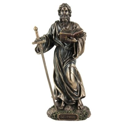 Cast Bronze Figurine of St. Paul