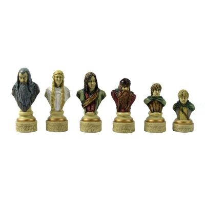 Lord of The Rings Figurine Chess Set
