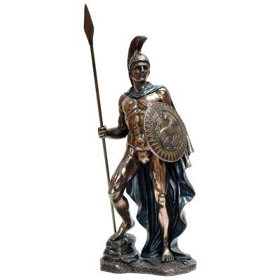 Cast Bronze Greek Mythology Figurine, Ares