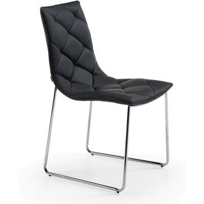 Lomond Dining Chairs - Black