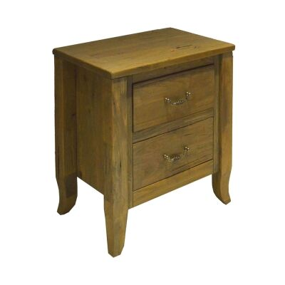 Sherborne Mountain Ash Timber Bedside Table