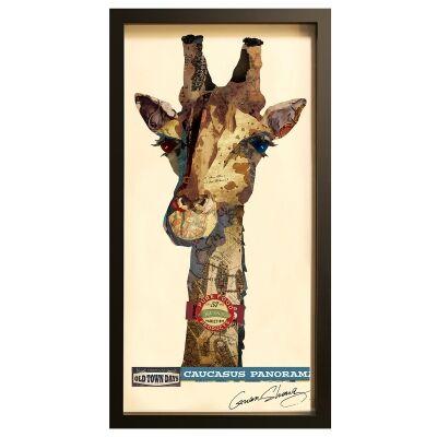 Merritt Framed Wall Art Print, Lady Giraffe, 85cm