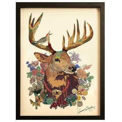Merritt Framed Wall Art Print, The Stag, 85cm