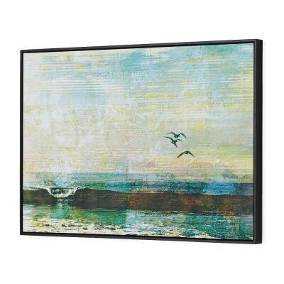First Break Framed Canvas Wall Art, 90cm