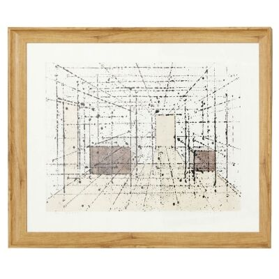 Sorcha Framed Wall Art Print, Room Interior Perspective, 85cm