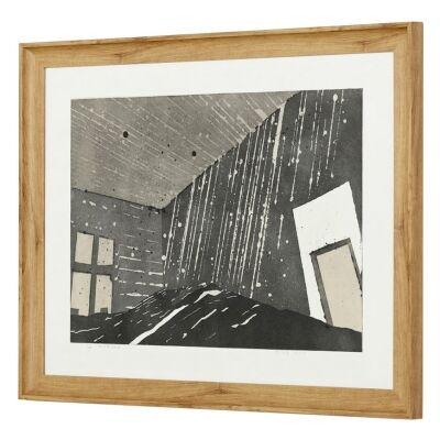 Width & Depth Framed Wall Art Print, 85cm