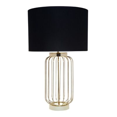Cleo Metal Wire Table Lamp