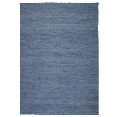 Capri Handwoven Wool Rug, 220x160cm, Blue