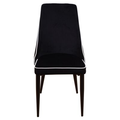 Carina Velvet Fabric Dining Chair
