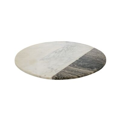 Roxham Marble Round Serving Board
