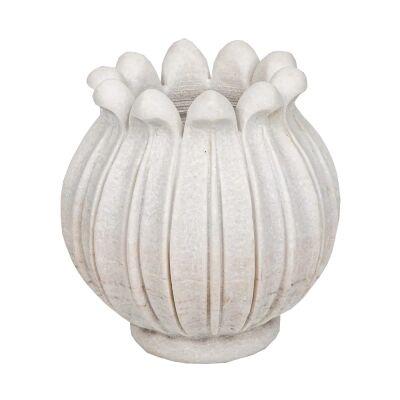 Berden Marble Tulip Vase, Extra Large