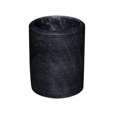Jaipur Marble Wine Cooler Medium, Black