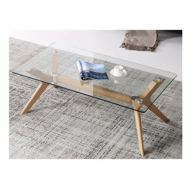 Forza Coffee Table, 120cm, Oak