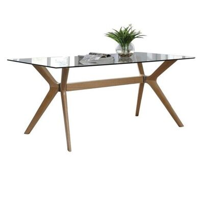 Forza Dining Table, 180cm, Walnut