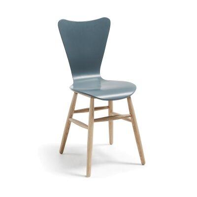 Masa Timber Dining Chair, Grey