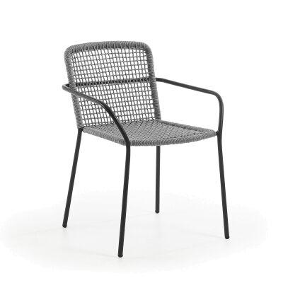 Breeze Indoor / Outdoor Dining Armchair, Grey