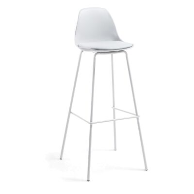 Chaves PU Leather Counter Stool, Grey