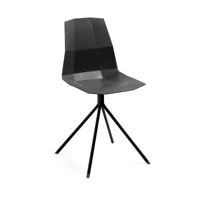 Amorosa Dining Chair, Black