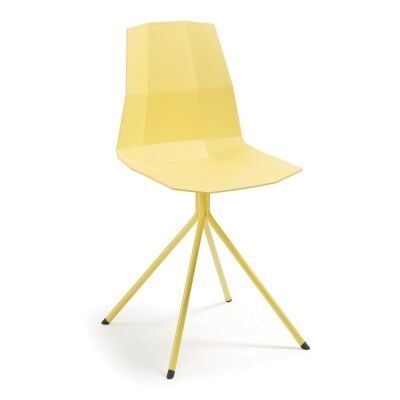Amorosa Dining Chair, Yellow