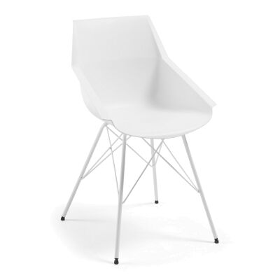 Capela Dining Armchair, White