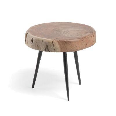 Ramona Acacia Timber Side Table, Small