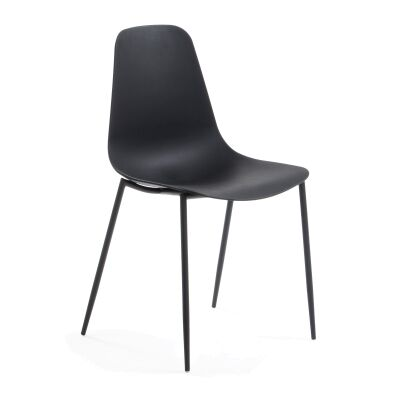 Wynifred Dining Chair, Black