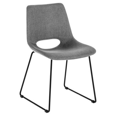 Amarco Fabric Dining Chair, Light Grey