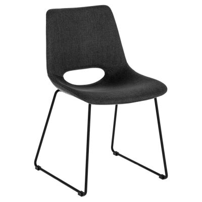 Amarco Fabric Dining Chair, Anthricite