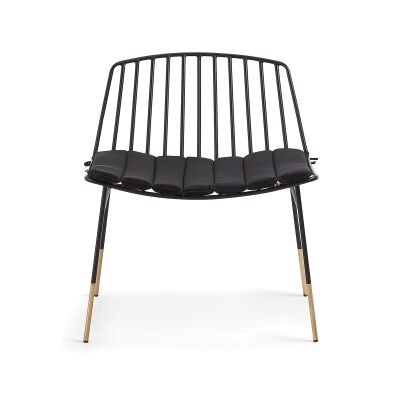 Patel Metal Dining Chair with Cushion